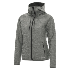 DRYFRAME® Ladies' Dry Tech Fleece Full Zip Hooded Jacket