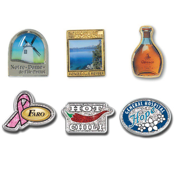 Economical Digi-Cal Lapel Pins | Sunset Alpine - Buy promotional